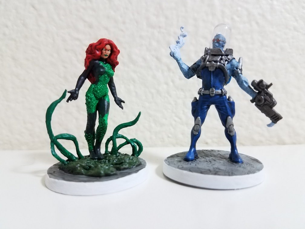 Poison Ivy & Mr. Freeze