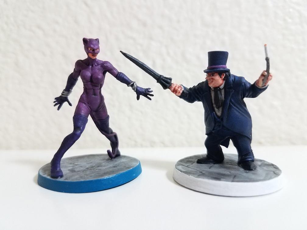 Catwoman & Penguin