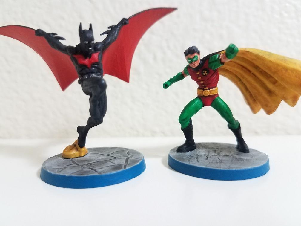 Batman Beyond & Robin (Tim Drake)