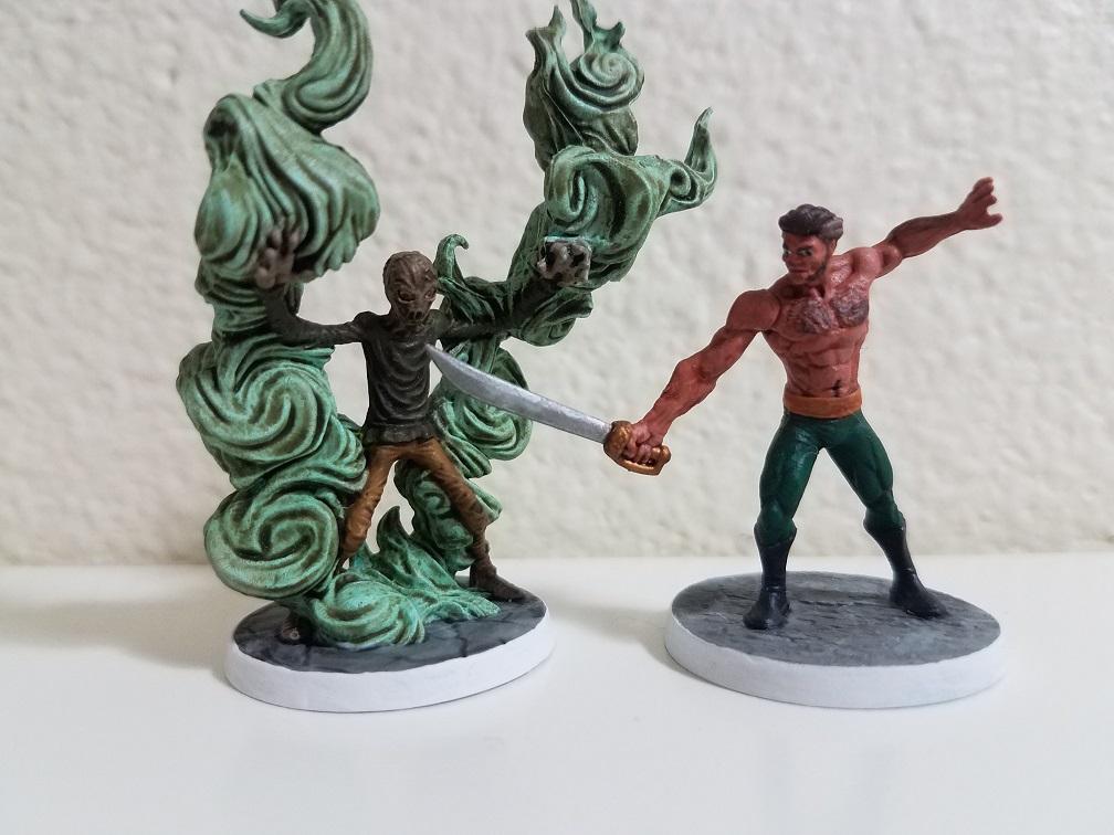 Scarecrow & Ra's al Ghul