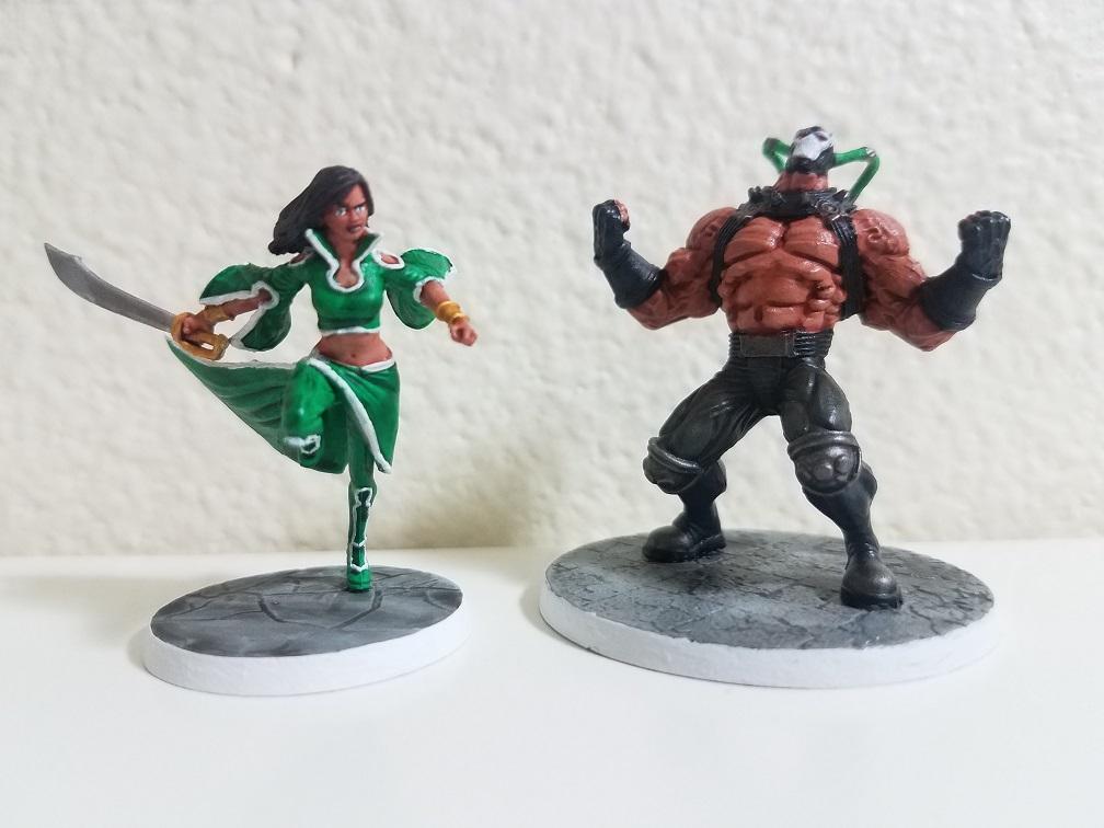 Talia al Ghul & Bane